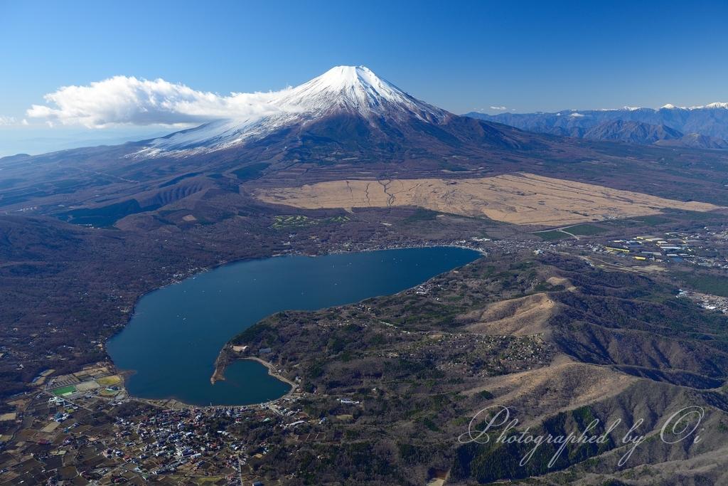 『 山中湖上空 』
